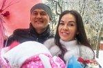 Степан Меньщиков: Любимая, спасибо за дочь!