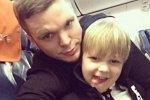 Антон Гусев отправился в Дубай вместе с сыном