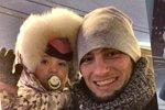 К Саше Задойновой приехал «бородатый нянь»