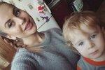 Ольга Ветер отправила сына в частный детский сад