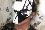 Ксения Бородина перепугала фанатов снимком в маске