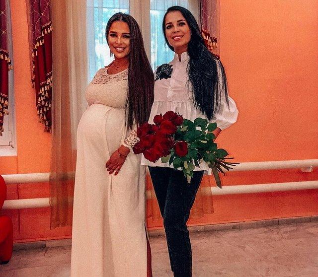 Катя Колисниченко вышла замуж на 32 неделе беременности