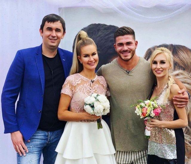 Андрей Шабарин: Розочка поймала свадебный букет