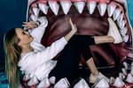 Милена Безбородова: А вы видели живую акулу?