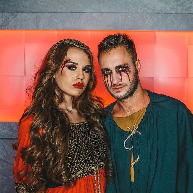 Милена Безбородова зарабатывала на Хеллоуине