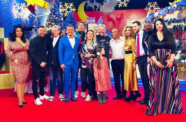 Фото с ток-шоу (12.01.2020)