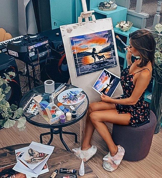 Юлия Белая: Провожу время с пользой для себя