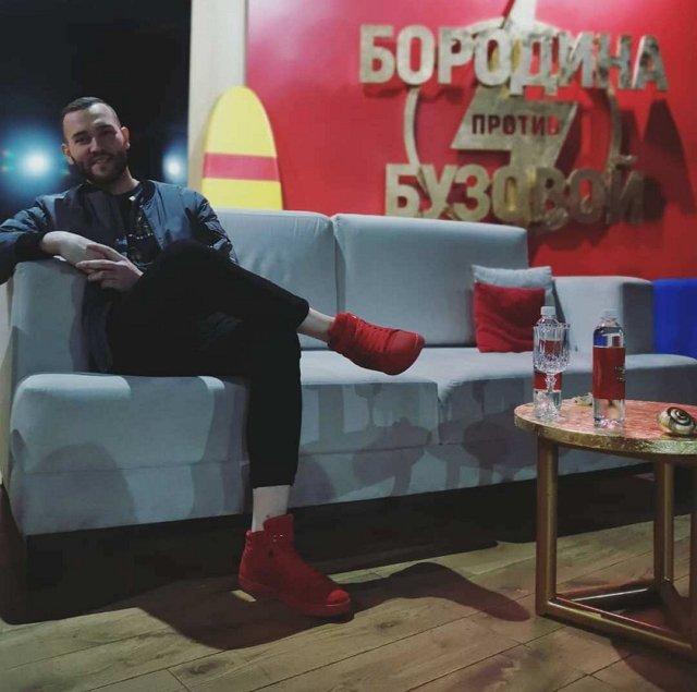 Фото с ток-шоу (20.03.2020)