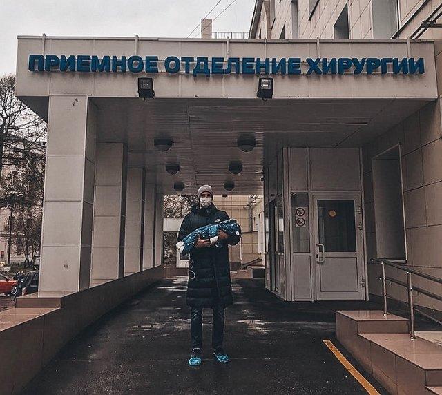 2-недельного сына Богдана Ленчука срочно прооперировали