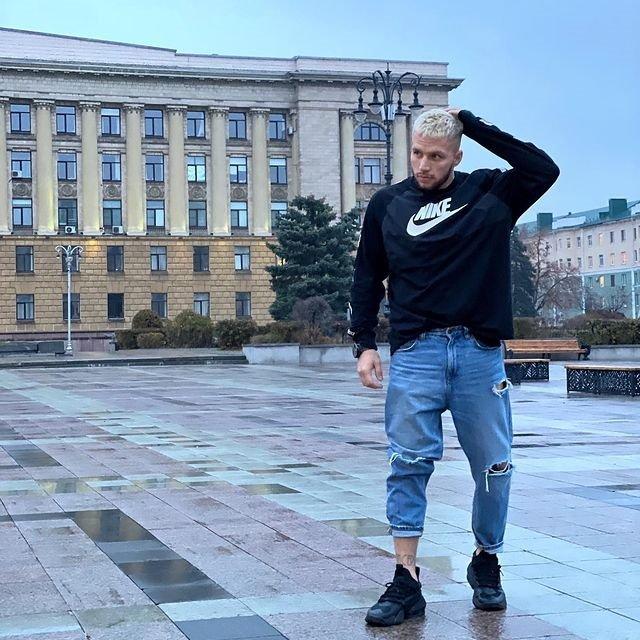 Новенький участник проекта Никита Ежков